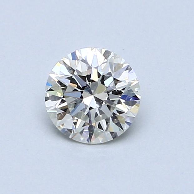 0.54 Carat J SI2 Round Diamond