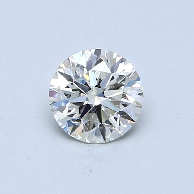 0.53 Carat J SI2 Round Diamond