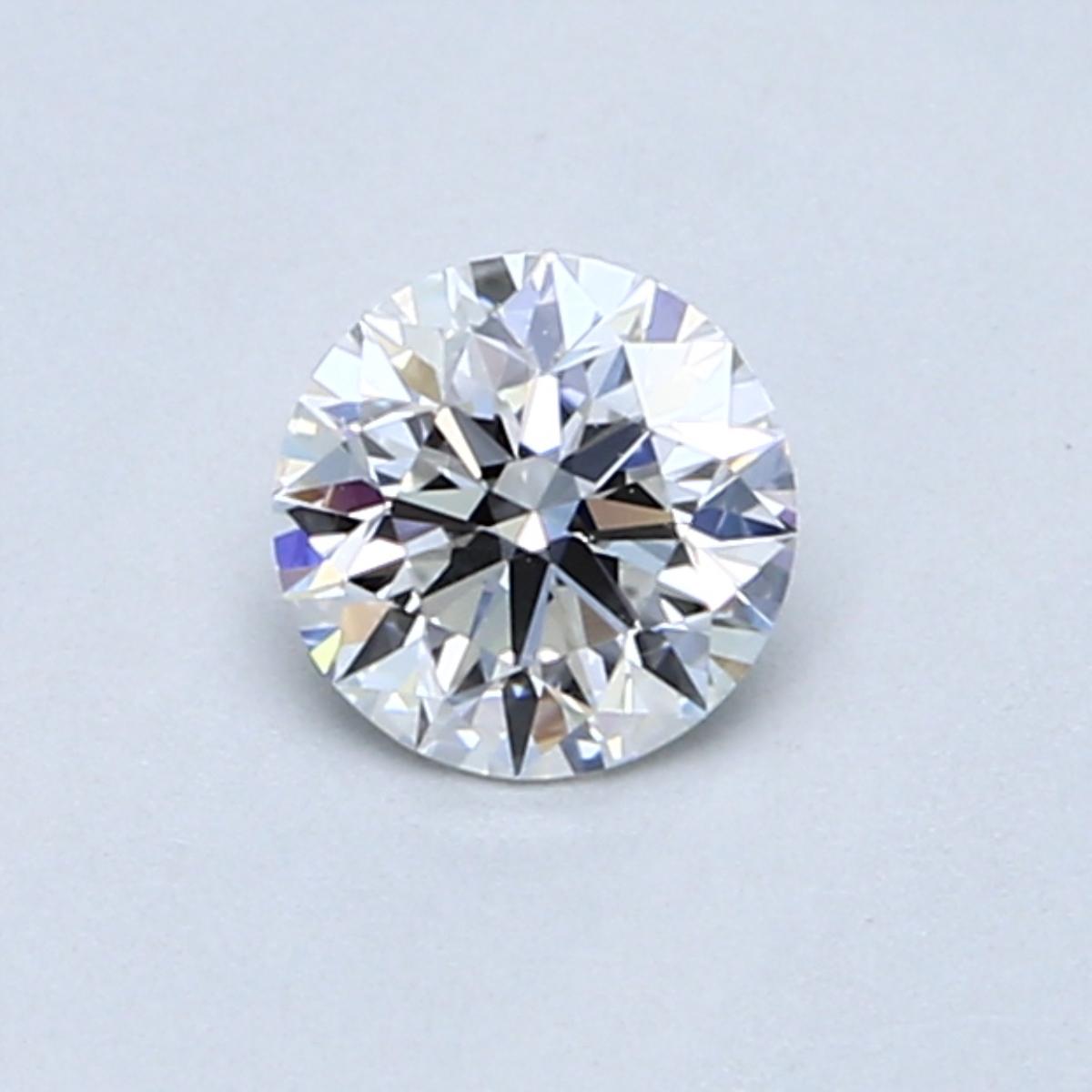 0.50 Carat E SI2 Round Diamond